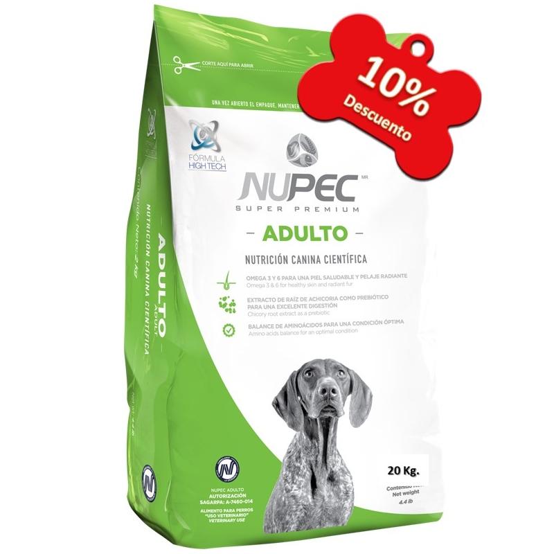 Nupec - Perros Adultos - 20 Kg