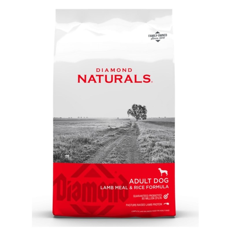 Diamond - Adultos - Lamb Meal & Rice Adulto Naturals 23/14 - 18 Kg