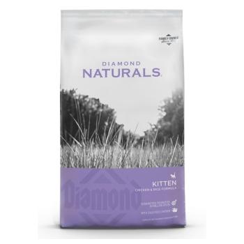Diamond - Gatos - Kitten Naturals 34/22 - 2.7 Kg - Paquete de dos bolsas