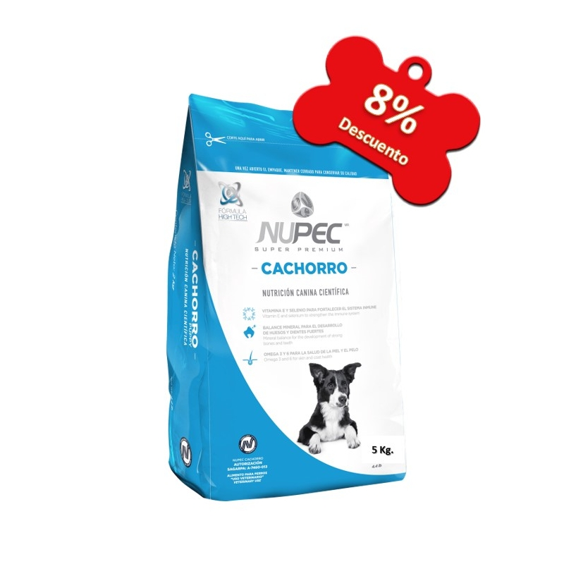 Nupec - Perros Cachorros - 5 Kg